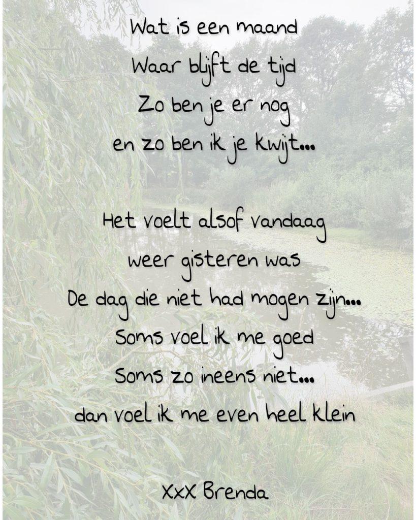 Gedicht over tijd