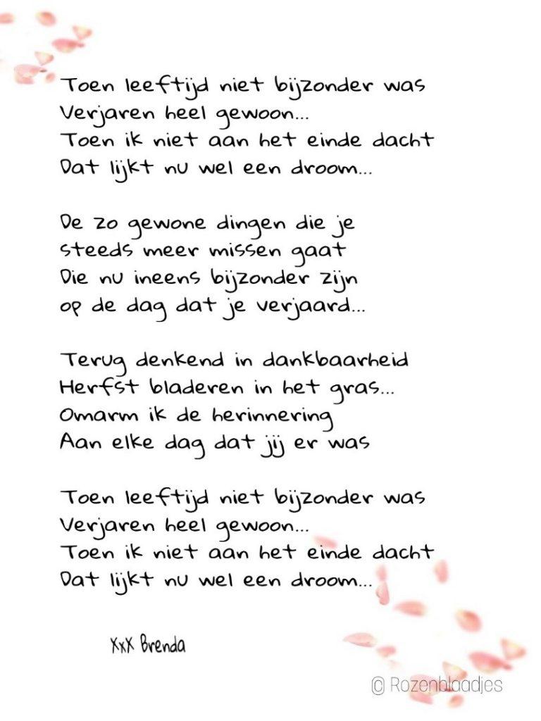 gedicht verjaardag